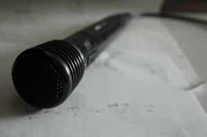 Le Microphone, principal outil des créateurs de sagas mp3 et de machinimas