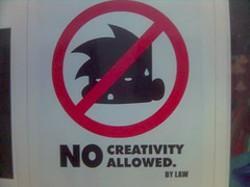 Créativité interdite