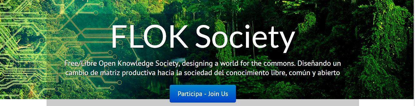 Projet de recherche Free/Libre Open Knowledge (FLOK) pour la transition en Equateur