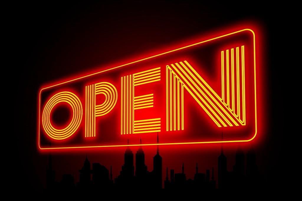 Open. Par Geralt. CC0. Pixabay