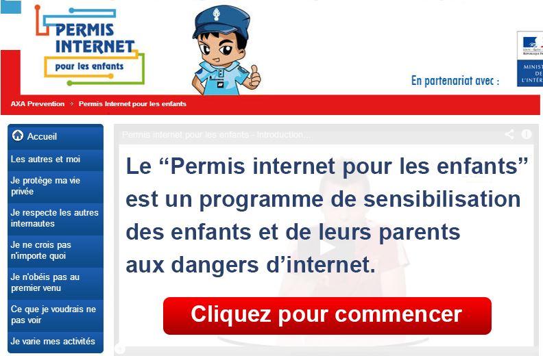 Le Permis Internet pour les enfants : la pédagogie par la peur !