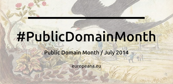 Europeana célèbre en juillet le mois du domaine public